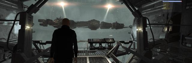Percheron in the Hangar
