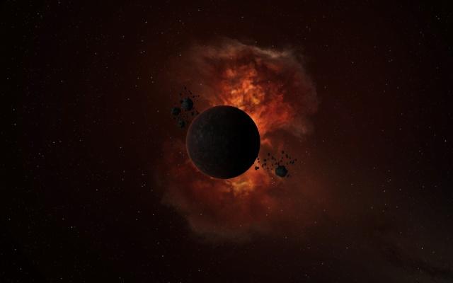black and orange nebula - photo #26