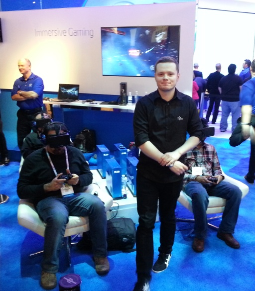 Proof CCP Masheen was hard at work at CES.